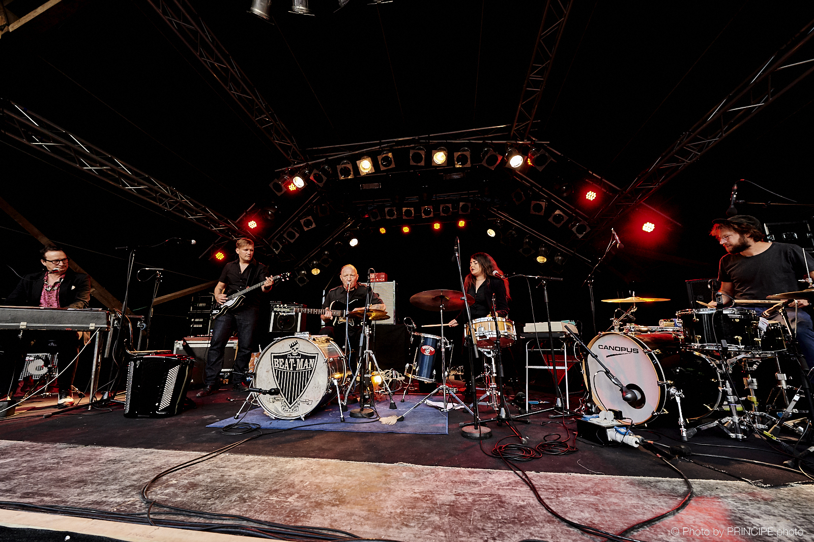 Reverend Beat-Man & the New Wave @ B-Sides Festival