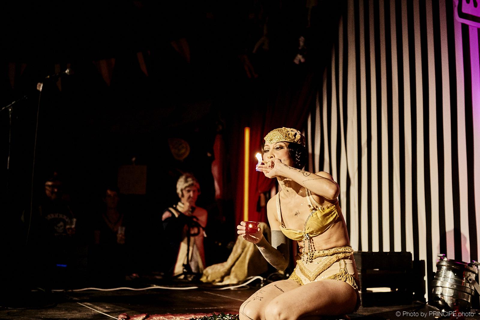Mademoiselle Lalla Morte @ Voodoo Rhythm Circus