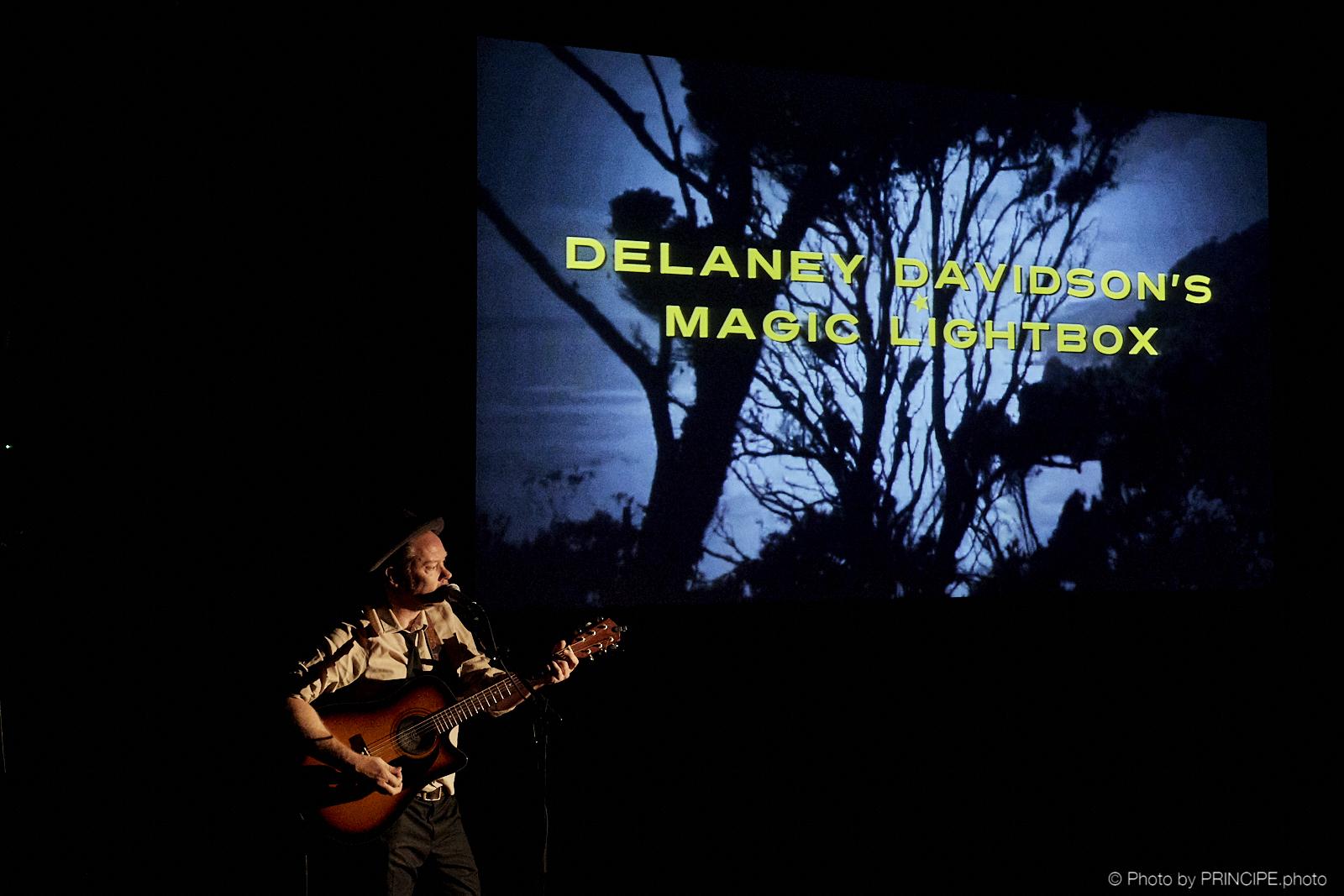 Delaney Davidson's Magic Lightbox @ Cinématte
