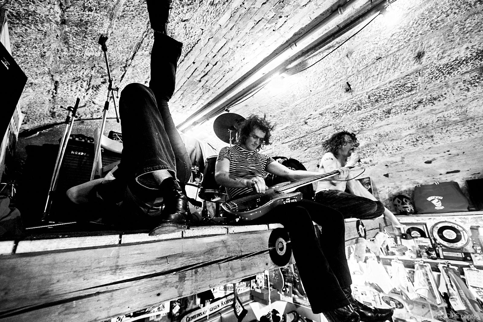 The Cavemen @ The Voodoo Rhythm & Pantichrist Hardware Store