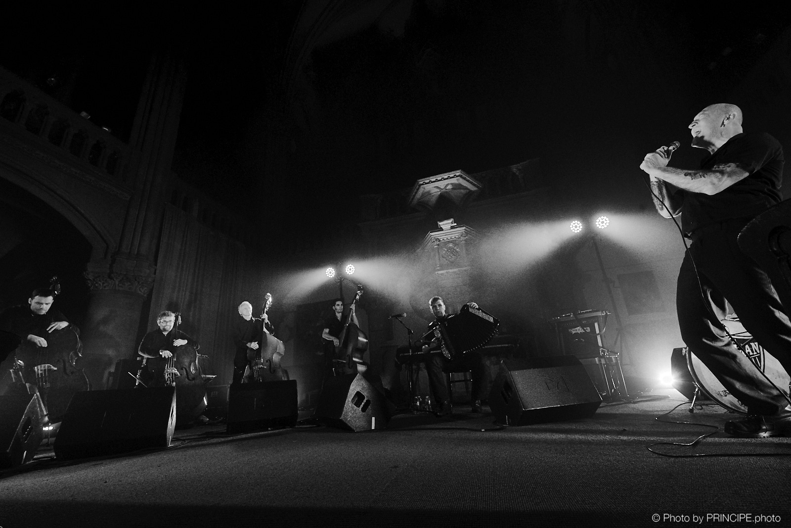 Beat-Man – Batkovic & Double Bass experiment – Temple Saint-Étienne
