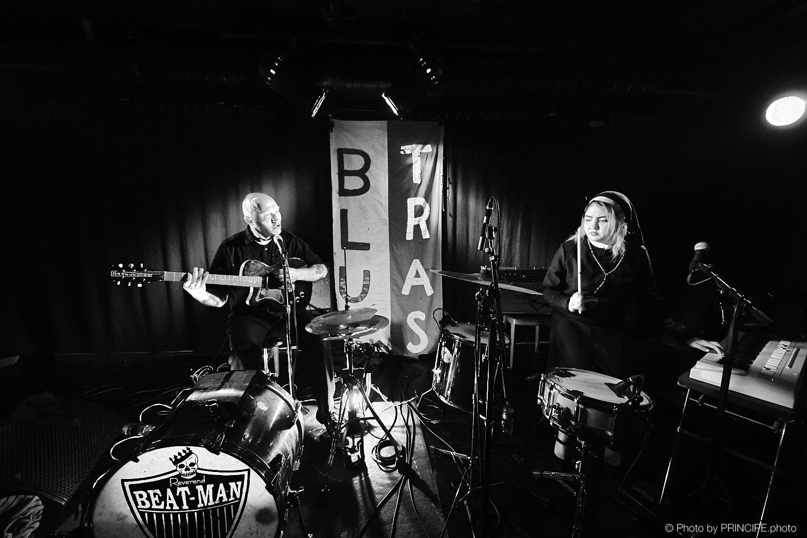 Reverend Beat-Man & Izobel Garcia @ Bad Bonn
