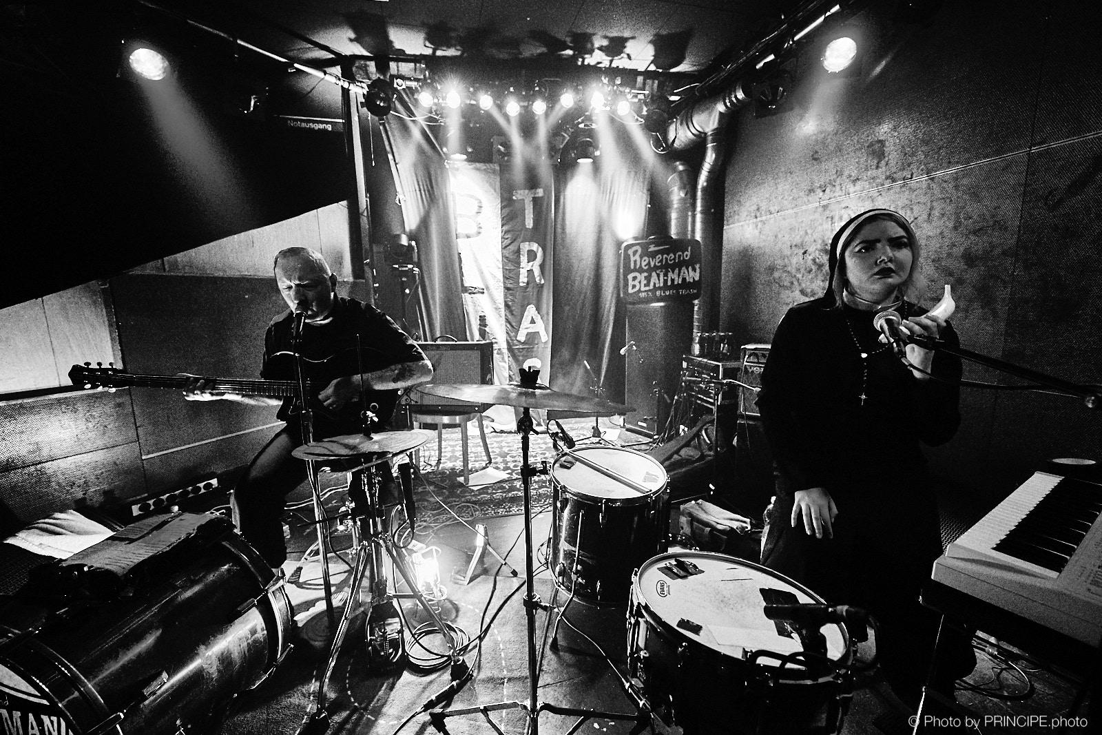 Reverend Beat-Man & Izobel Garcia @ Gaswerk