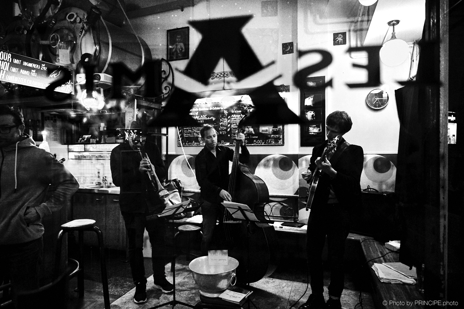 Martin Dahanukar Trio @ Les Amis