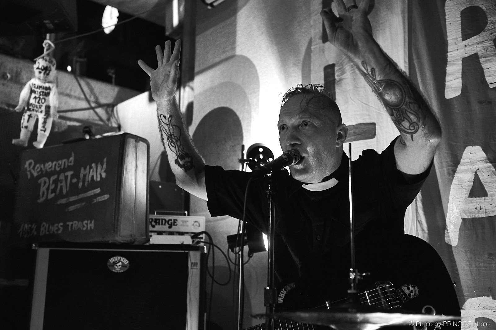 Reverend Beat-Man @ Café Kairo
