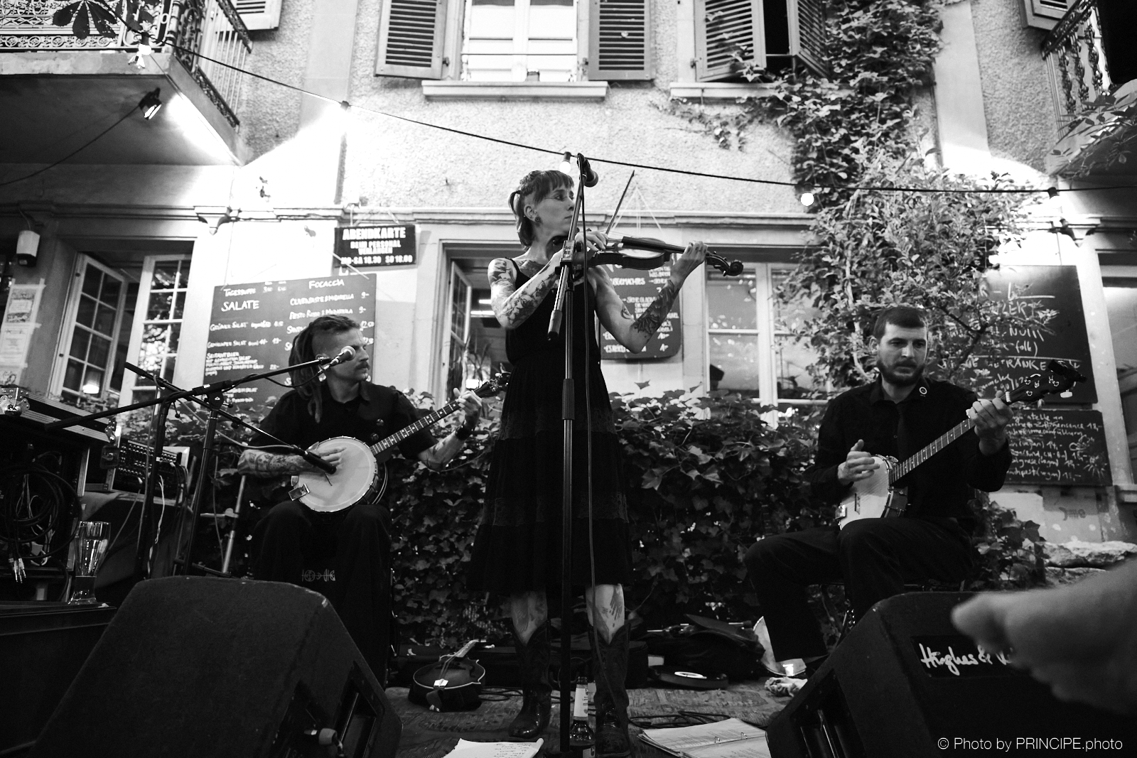 Pin Noir @ Brasserie Lorraine
