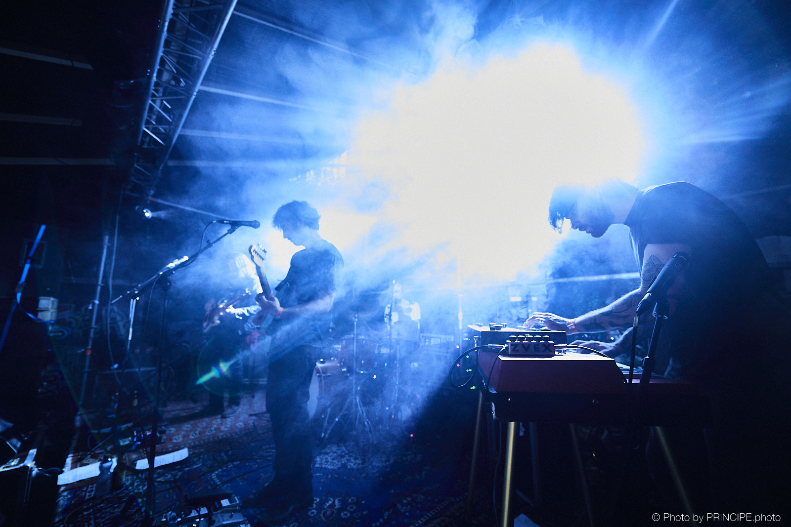 Harvey Rushmore & The Octopus @ Reitschule Innenhof Sommer Konzerte